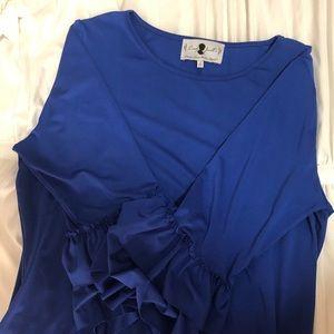 Dainty Jewells Layering Top-Royal Blue L